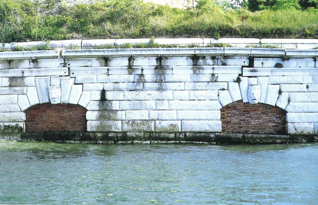 Michele Sanmicheli. Forte Sant'Andrea, Venezia, 1543-1549.
